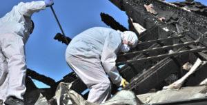 fire damage restoration step 4