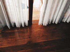 Restored wood floors
