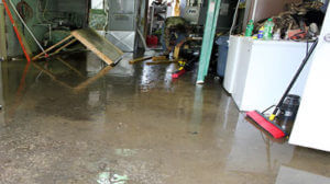 water damage garage repair