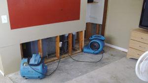 water damage repair blowers