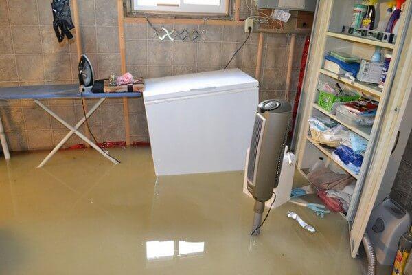 basement flooded san diego