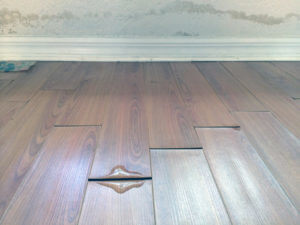 wood floor water damage san diego