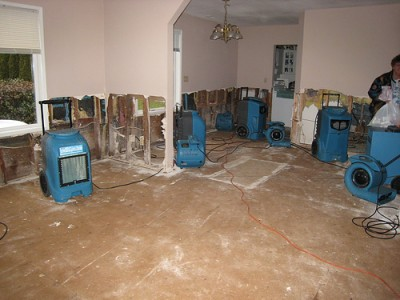 water damage repair Texas