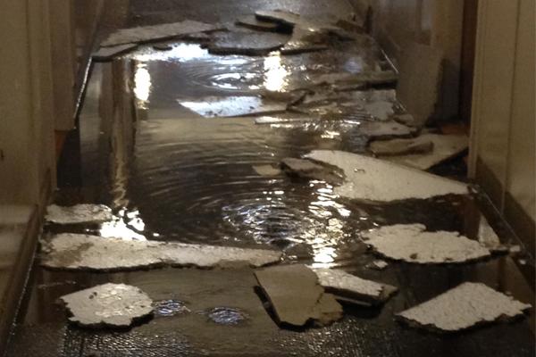 burst pipe flooding san diego